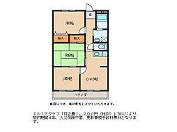 佐生マンション[4階]の間取り