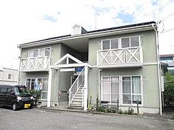 滋賀県東近江市八日市緑町の賃貸アパートの外観