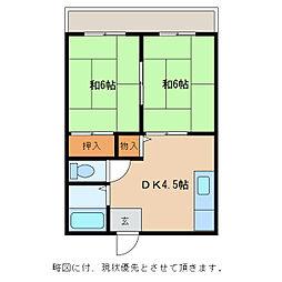 いづみニューハイツ[1階]の間取り