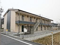 滋賀県東近江市五個荘清水鼻町の賃貸アパートの外観