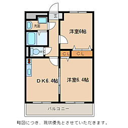 Chez−soi TATSUMIIII番館[1階]の間取り