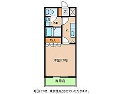 KUKUNA[1階]の間取り