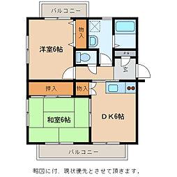 メゾンマツオ[2階]の間取り