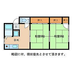 東荘[1階]の間取り