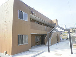 鹿児島県姶良市松原町2丁目の賃貸アパートの外観