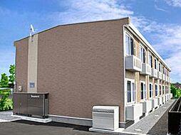 レオパレスイルミナA[1階]の外観