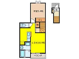 セントラル・プラザ[2階]の間取り