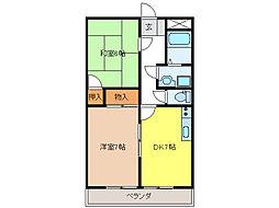 エステート南山 TS-2[2階]の間取り