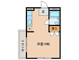 レジデンス津田[2階]の間取り