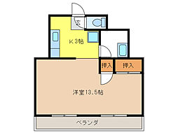 サンオレンジビル[3階]の間取り
