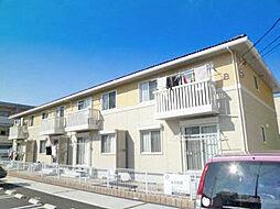 愛知県刈谷市井ケ谷町桜島の賃貸アパートの外観