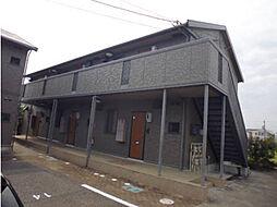 アンソレイユ B棟[2階]の外観