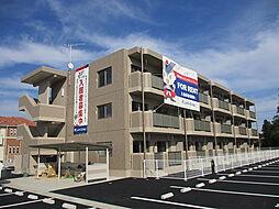 茨城県古河市東諸川の賃貸マンションの外観