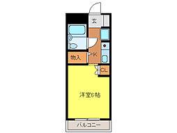 KI—3ビル[203号室]の間取り