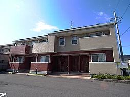 岐阜県羽島市小熊町天王2丁目の賃貸アパートの外観