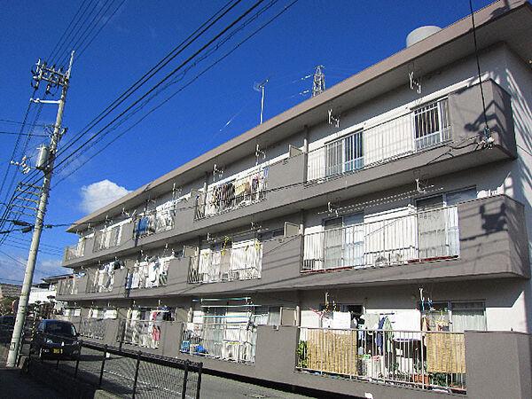 昭和マンション[203号室]の外観
