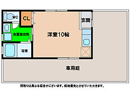 [一戸建] 徳島県阿南市那賀川町日向 の賃貸【/】の間取り