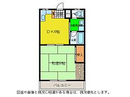 豊栄マンション[2階]の間取り