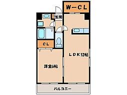 J's plant[2階]の間取り