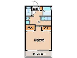 サムシング23[1階]の間取り