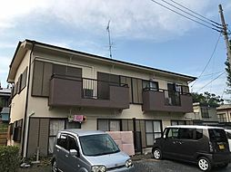埼玉県東松山市日吉町の賃貸アパートの外観