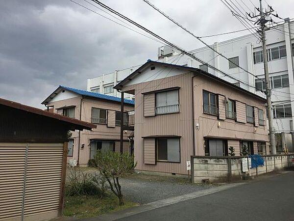 埼玉県坂戸市千代田1丁目の賃貸アパートの外観