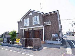 岐阜県瑞穂市田之上の賃貸アパートの外観