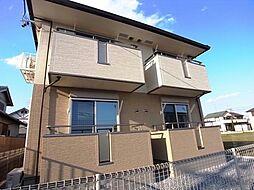 岐阜県瑞穂市十九条の賃貸アパートの外観
