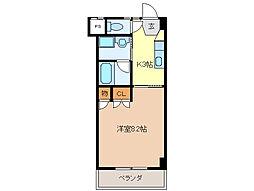 U・TOPIA 62[810号室]の間取り
