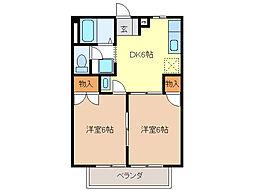リバーサイド31[1階]の間取り