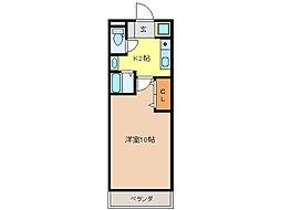 正木マンション[3階]の間取り
