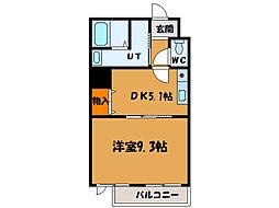 北海道函館市川原町の賃貸マンションの間取り