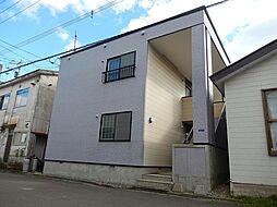 北海道函館市栄町の賃貸アパートの外観