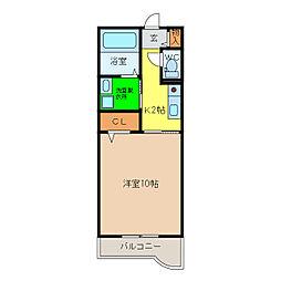 NESTスエヒロ[1階]の間取り