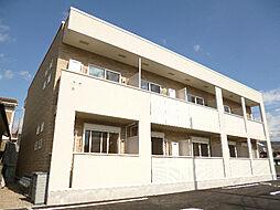 ツインコートA[2階]の外観