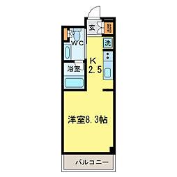 A・VIEW[3階]の間取り