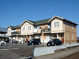 徳島県徳島市論田町本浦中の賃貸アパートの外観