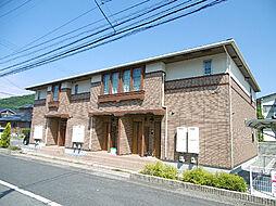 徳島県徳島市大原町余慶の賃貸アパートの外観