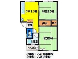 ソタニマンション[2階]の間取り