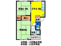 ソタニマンション[3階]の間取り