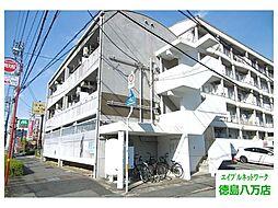 徳島県徳島市沖浜東3の賃貸マンションの外観