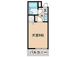 シャルマンフジ湊北町弐番館[4階]の間取り