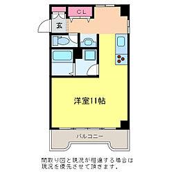 サンテラス石宮[7階]の間取り