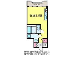 サンテラス石宮[5階]の間取り