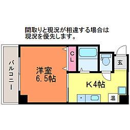 マンションアスカ[6階]の間取り