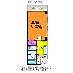 SEKISHIN第二ビル[3階]の間取り