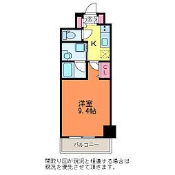 S-FORT新潟本町[6階]の間取り