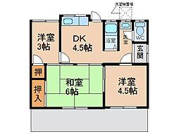 [一戸建] 愛知県小牧市新町3丁目 の賃貸【愛知県 / 小牧市】の間取り