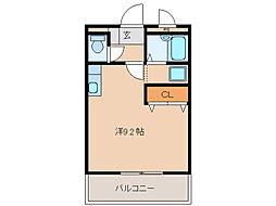 ルミナス・11[2階]の間取り