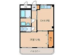 メルベーユK[2階]の間取り